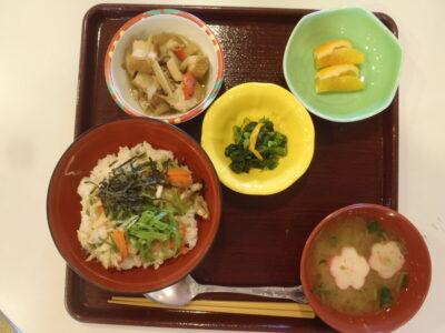 郷土料理 R3.3月 セイワ若松デイサービスセンター